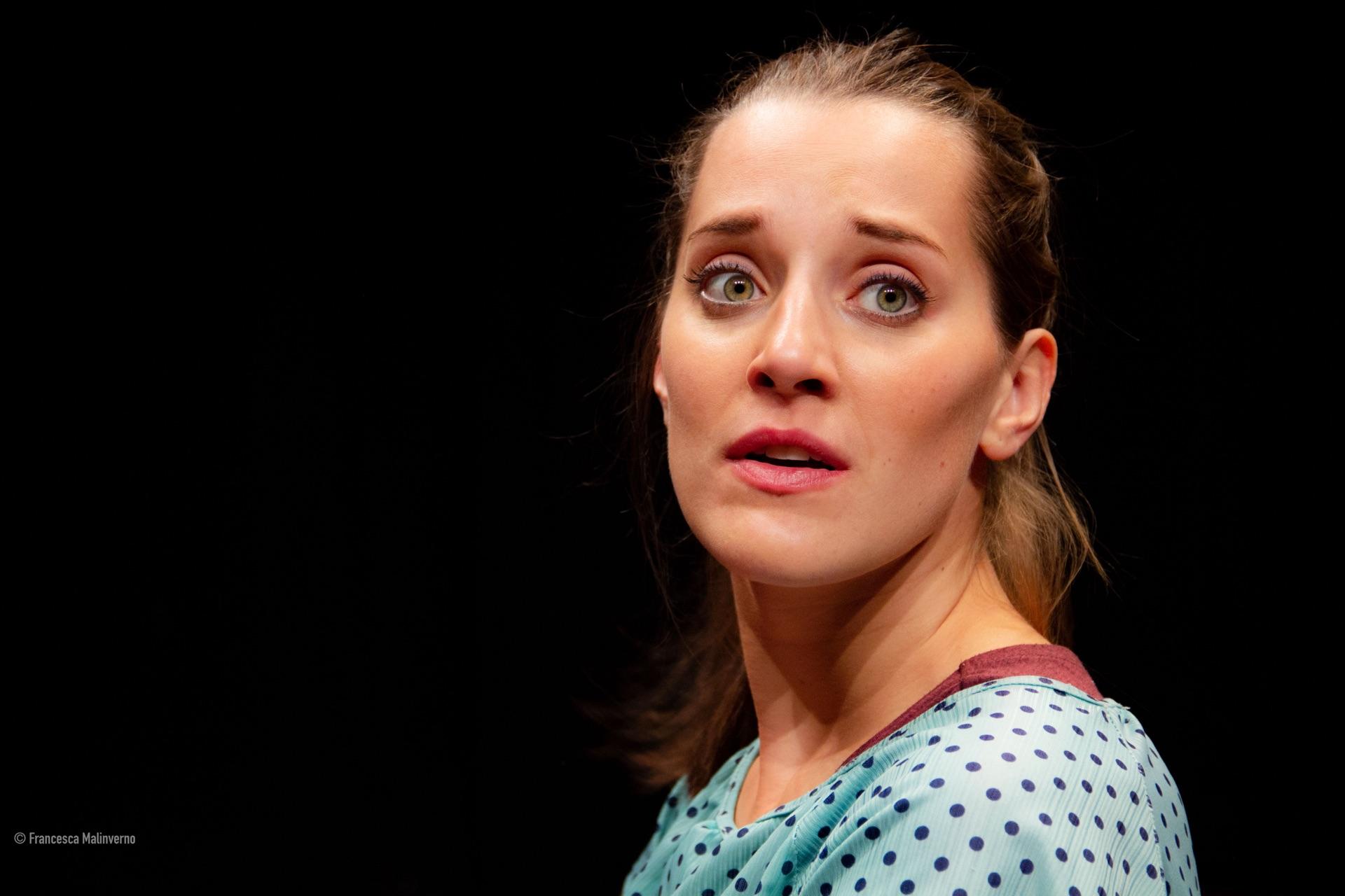Valeria Girelli, attrice della compagnia teatrale Dittico Elalù