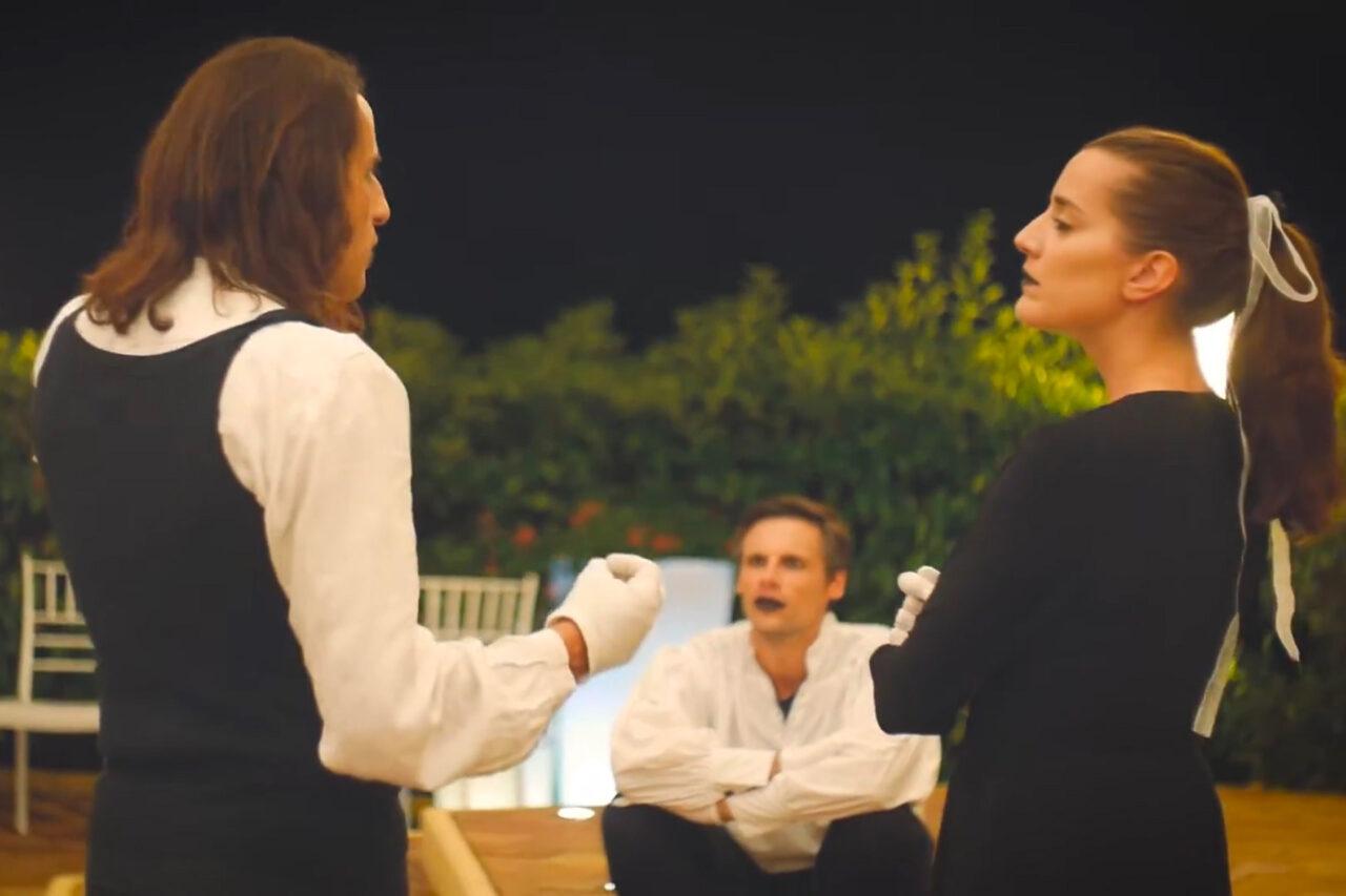 Dittico Elalù in scena con altri attori a Pizzo Calabro per il campus teatrale Accademia dei Lunanzi